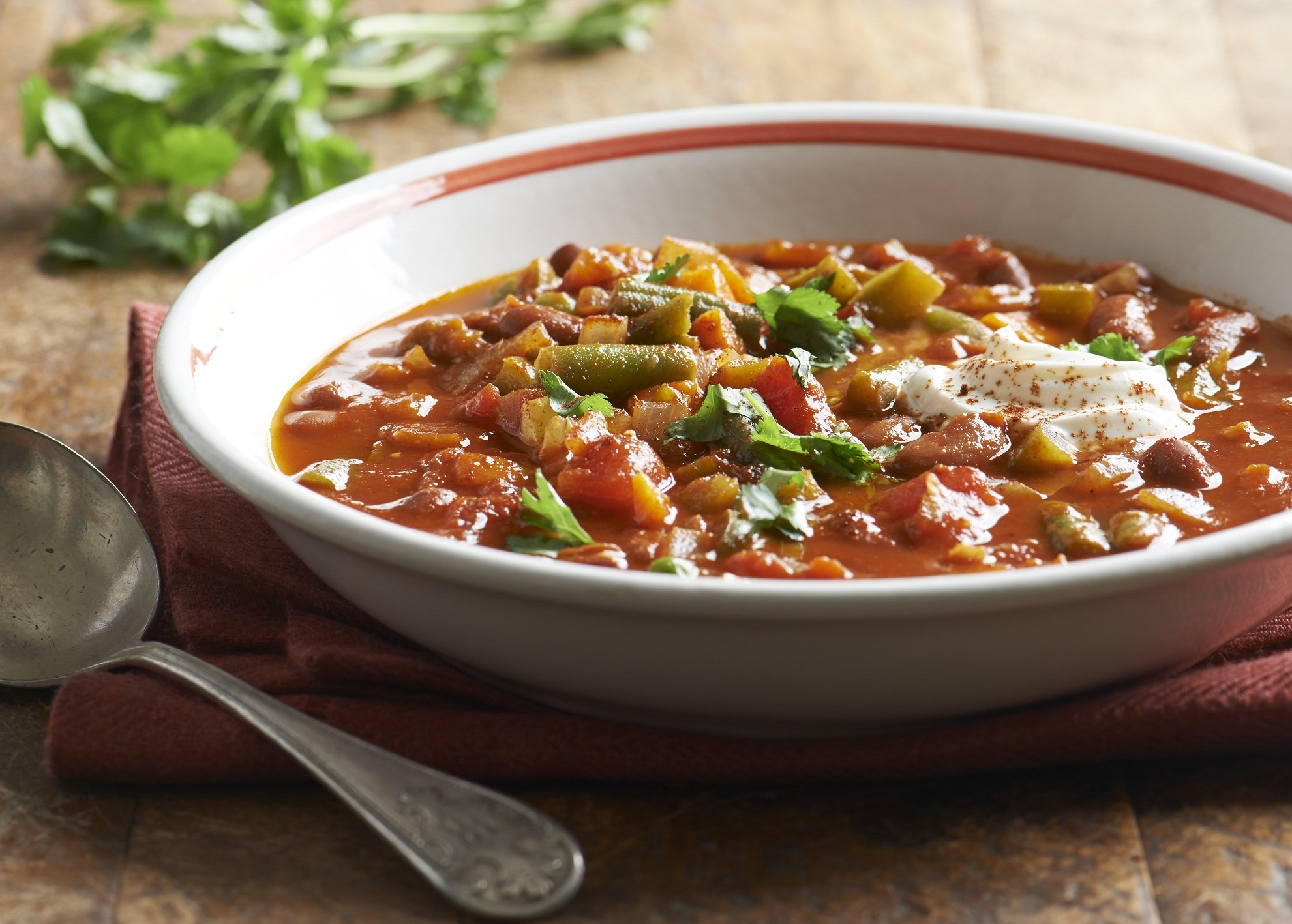 Boom! Add some exotic beans to your chili recipes. Photo via Meredith Publishing